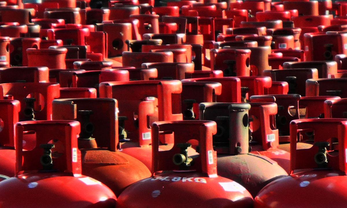 Using LPG Cylinder